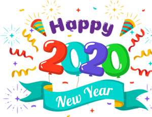 The Best Happy New Year Clipart 2020