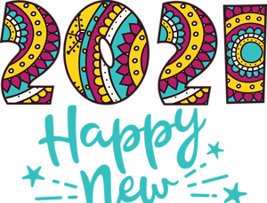 Happy New Year 2021 Transparent Png Images For New Year